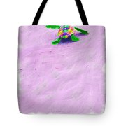 Sea Turtle Escape Card Tote Bag