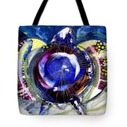 Sea Turtle Ethereal Tote Bag