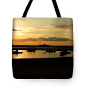 Seabrook At Sunset 1a Tote Bag