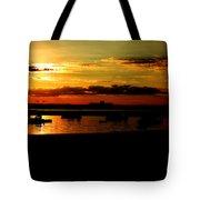 Seabrook At Sunset 1b Tote Bag