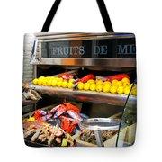 Seafood Market In Nice Tote Bag