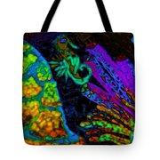 Seahorse Mosaic Tote Bag