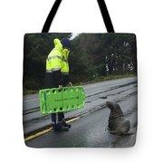 Seal Crossing Tote Bag