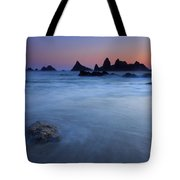 Seal Rock Dusk Tote Bag by Mike  Dawson