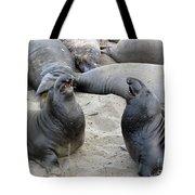 Seal Spa. Men's Talk2 Tote Bag