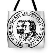 Seal: Washington & Lee Tote Bag