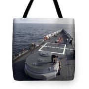 Seamen On The Forecastle Tote Bag
