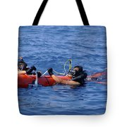 Search And Rescue Swimmers Retrieve Tote Bag