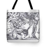Searchers And Swimmers Tote Bag