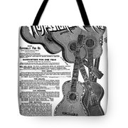 Sears Ad - Guitars 1902 Tote Bag