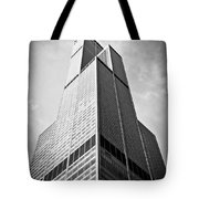 Sears-willis Tower Chicago Tote Bag by Paul Velgos