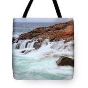 Seas On Schoodic Point Tote Bag