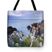 Seascape From Coast Of Clogherhead Tote Bag