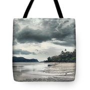 Seascape Panorama Tote Bag
