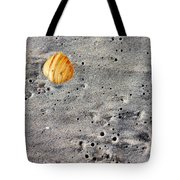 Seashell In The Sand Tote Bag