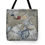 Seashells In The Surf Tote Bag