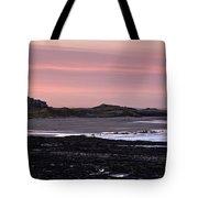 Seashore At Sunset, Northumberland Tote Bag