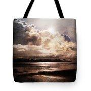 Seaside Cloudscape Tote Bag