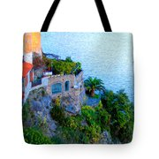 Seaside Villa Amalfi Tote Bag