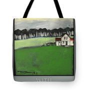 Season Your Home With Love Poster Tote Bag