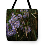 Seasonal Blues Tote Bag