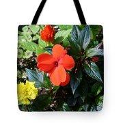 Seasonal Bouquet Tote Bag
