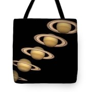 Seasons On Saturn Tote Bag
