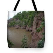 Seastacks At Hopewell Rocks Tote Bag