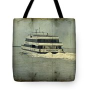 Seastreak Catamaran - Ferry From Atlantic Highlands To Nyc Tote Bag