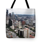 Seattle From The Needle Tote Bag