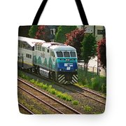 Seattle Sounder Train Tote Bag