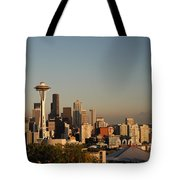 Seattle Sunset Tote Bag