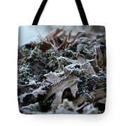 Seaweed And Oak Leaves Tote Bag