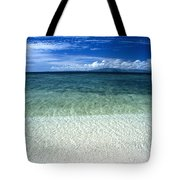 Secluded White Sands Beach Tote Bag