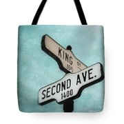 second Avenue 1400 Tote Bag by Priska Wettstein