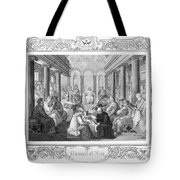 Second Council Of Nicaea Tote Bag