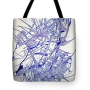 Secret Escapes Tote Bag by Gloria Ssali