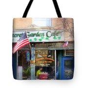 Secret Garden Cafe Tote Bag