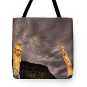Secret Grounds Tote Bag by Jakub Sisak