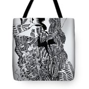 Secret Kiss Tote Bag