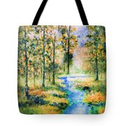 Secret Rivers Tote Bag