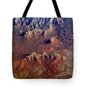 Sedona Arizona Planet Earth Tote Bag
