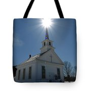 Seen The Light Tote Bag by Peter Gray