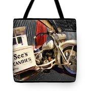 See's Motocycle Tote Bag