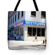 Seinfeld Diner Location Tote Bag