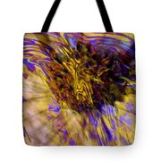 Seize The Day - Abstract Art Tote Bag