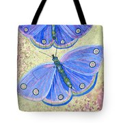 Self Expression Butterfly Tote Bag