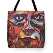 Self Portrait - Map Of Life Tote Bag