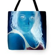 Self Portrait Front And Center Tote Bag