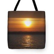 Seneca Lake Sunrise Tote Bag